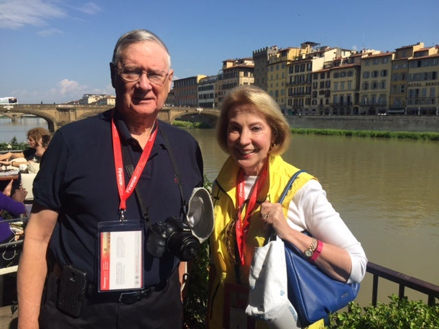 2016-05-07 Norm and Ruth with Ponte Vecchio.JPG