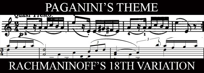 The inversion of a theme by Paganini | New Jersey Symphony