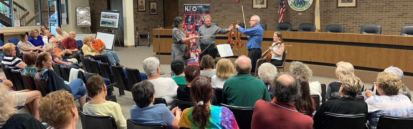 Arrange for an Ensemble   New Jersey Symphony Orchestra