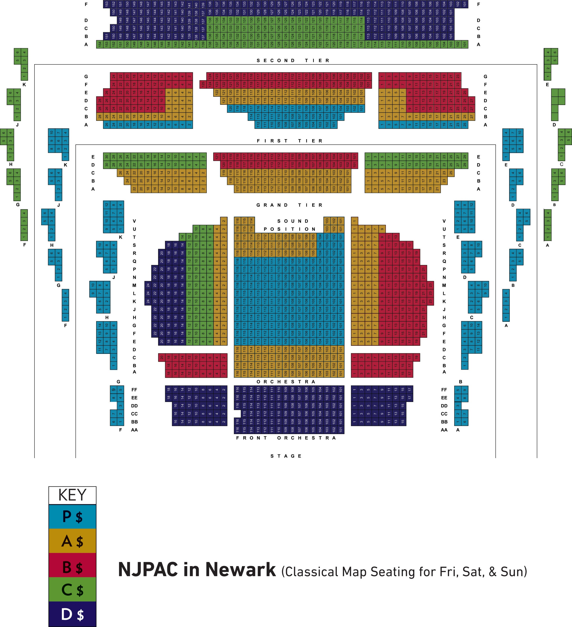 New jersey performing arts center in newark new jersey symphony
